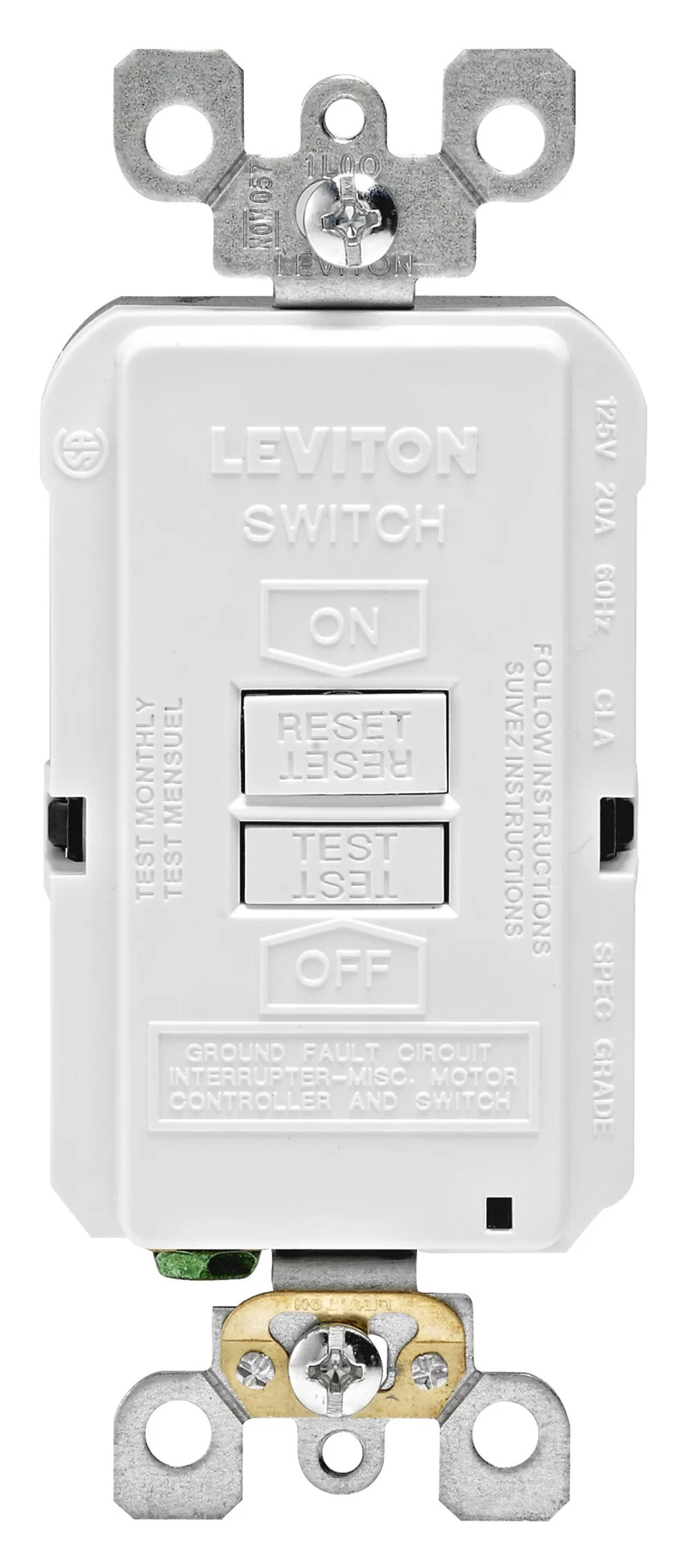 hight resolution of r98 gfrbf 0kw 20 amp gfci outlet