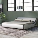 Orren Ellis Karr Upholstered Low Profile Platform Bed Reviews Wayfair