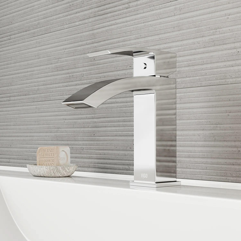 contemporary bathroom sink faucets