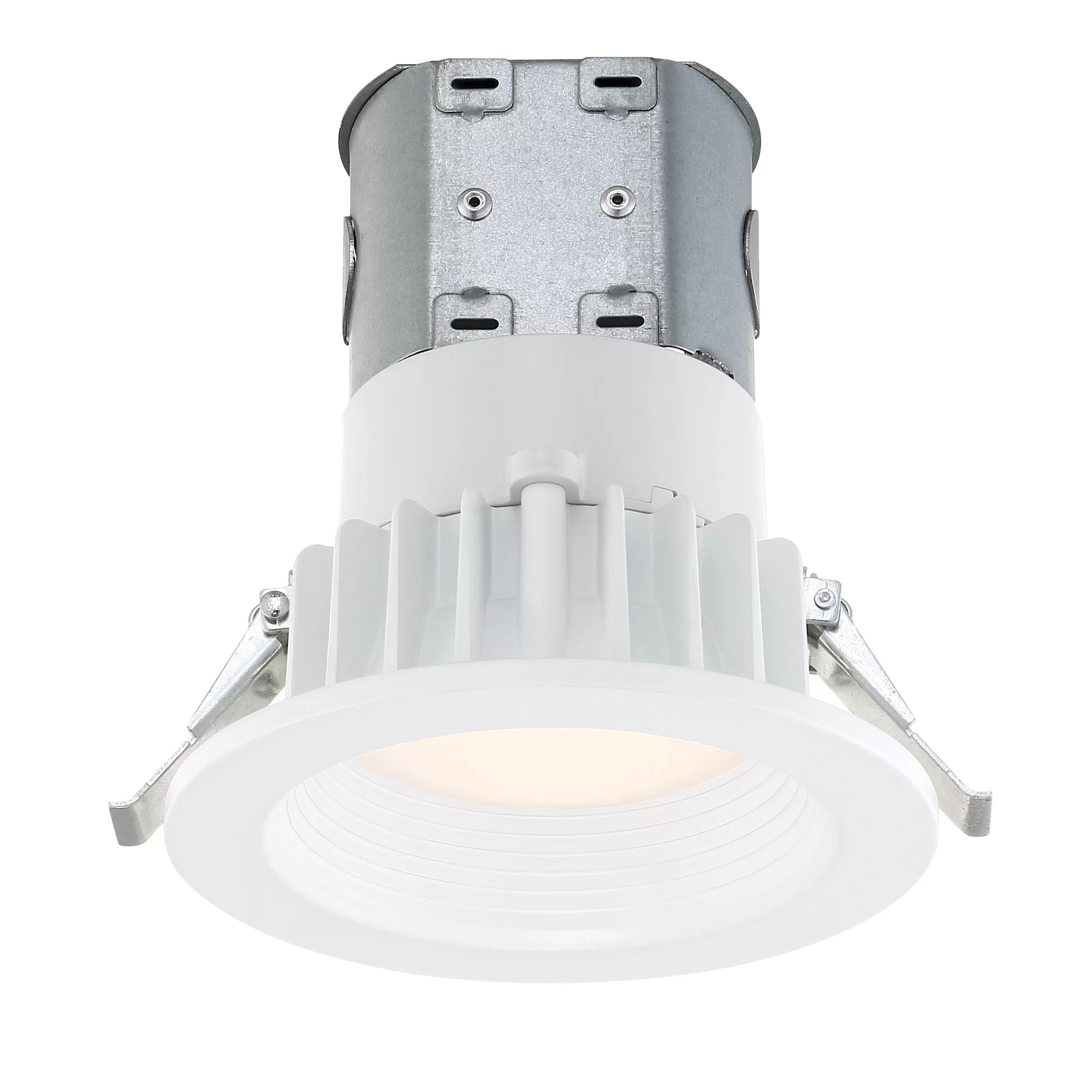 dixson easy up 4 led recessed lighting kit