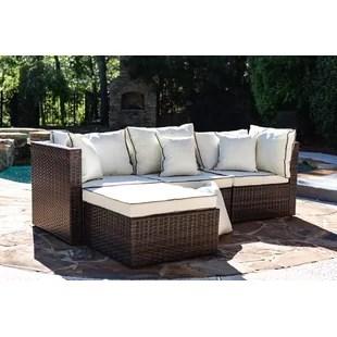 burruss 83 5 wide outdoor reversible patio sectional