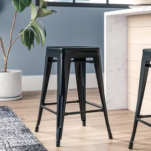 high bar stool chairs office chair seat covers ebay wayfair quickview