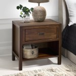 Nightstands Bedside Tables Wayfair