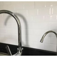 Grey Kitchen Tile Marble Top Cart Find The Perfect Peel And Stick Backsplash Wayfair 12 X Pvc Subway In White