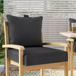 chair cushion cover toddler leather recliner outdoor pillows cushions you ll love wayfair quickview