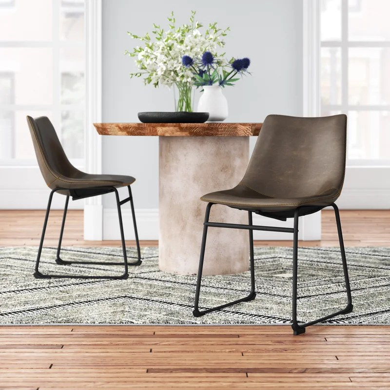 Bamey Upholstered Side Chair (Set of 2)