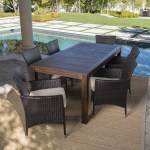Appel Outdoor 7 Piece Dining Set With Cushions Reviews Joss Main