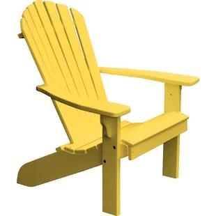 yellow adirondack chairs plastic table chair covers ebay joss main quickview