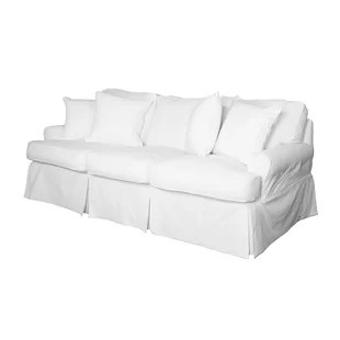 how to make a slipcover for sofa leather orange slipcovers you ll love wayfair quickview