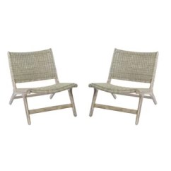 Woven Outdoor Chair La Z Boy Executive 2 Modern Lounge Chairs Allmodern Quickview