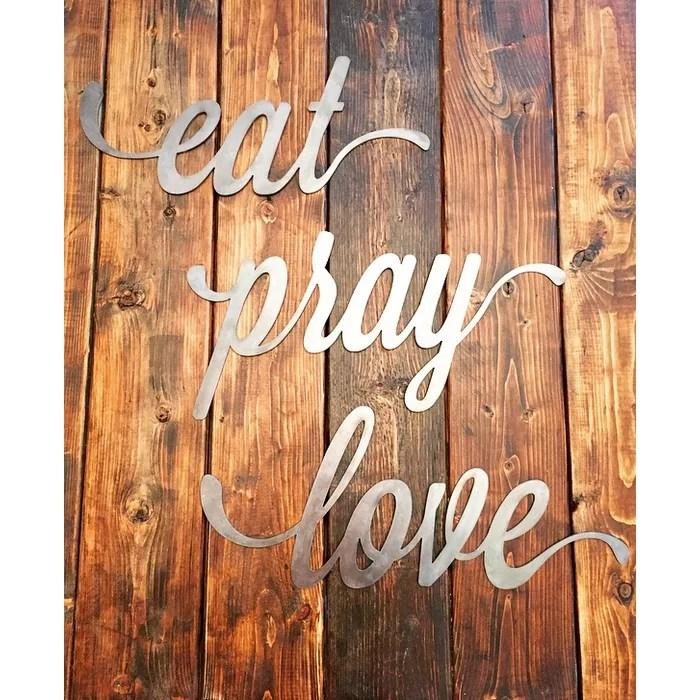 Download Eat Pray Love Wall Decor