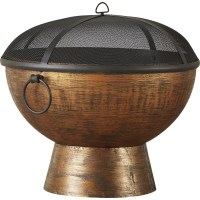 Good Directions Steel Charcoal Fire Pit & Reviews | Wayfair.ca