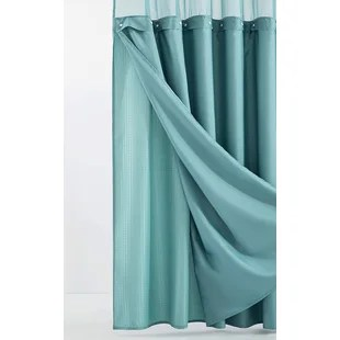 blue shower curtains shower liners