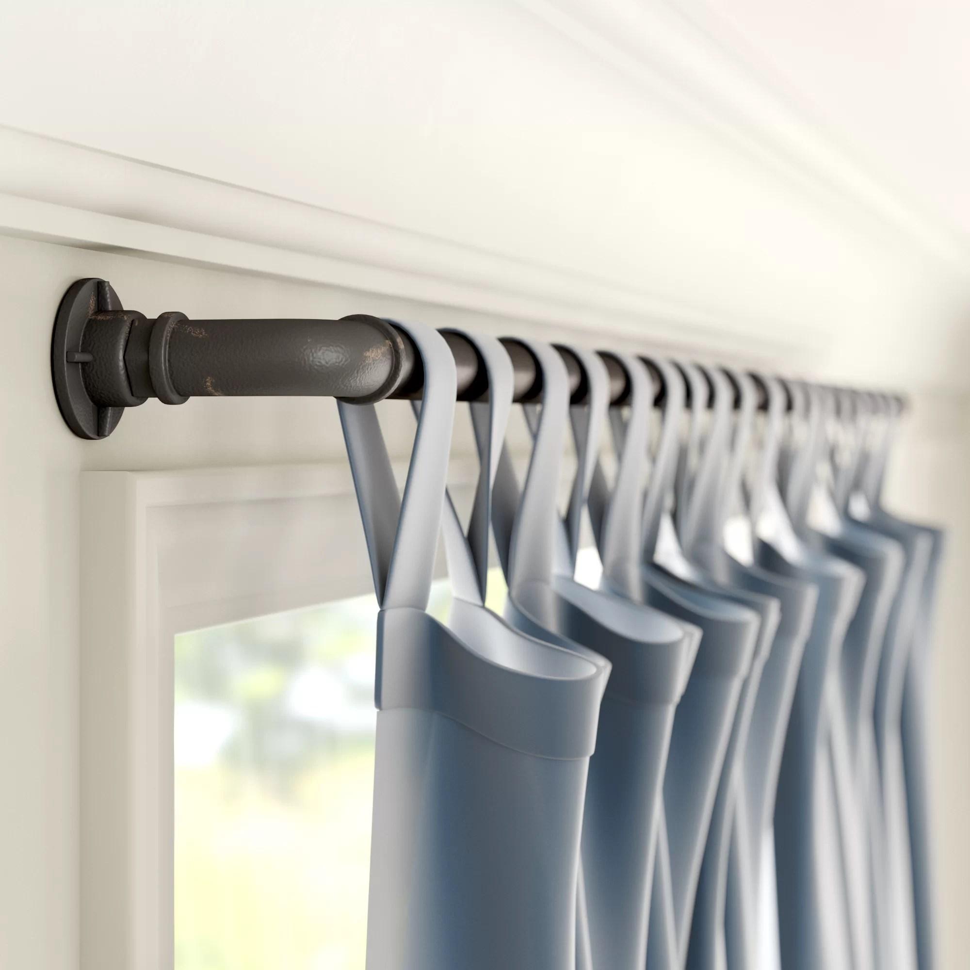 heavy duty rods curtain hardware