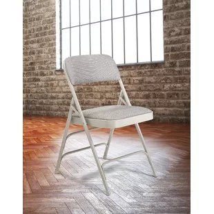 outdoor chair fabric white bankers folding chairs you ll love wayfair quickview