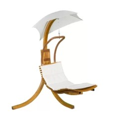 Hanging Rattan Chair Comfy Dorm Chairs Modern Contemporary Allmodern Polyester Chaise Lounger With Stand