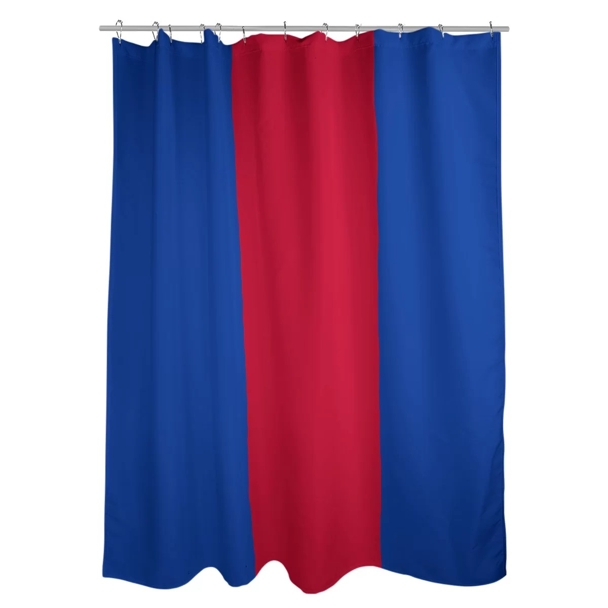 new york striped shower curtain liner