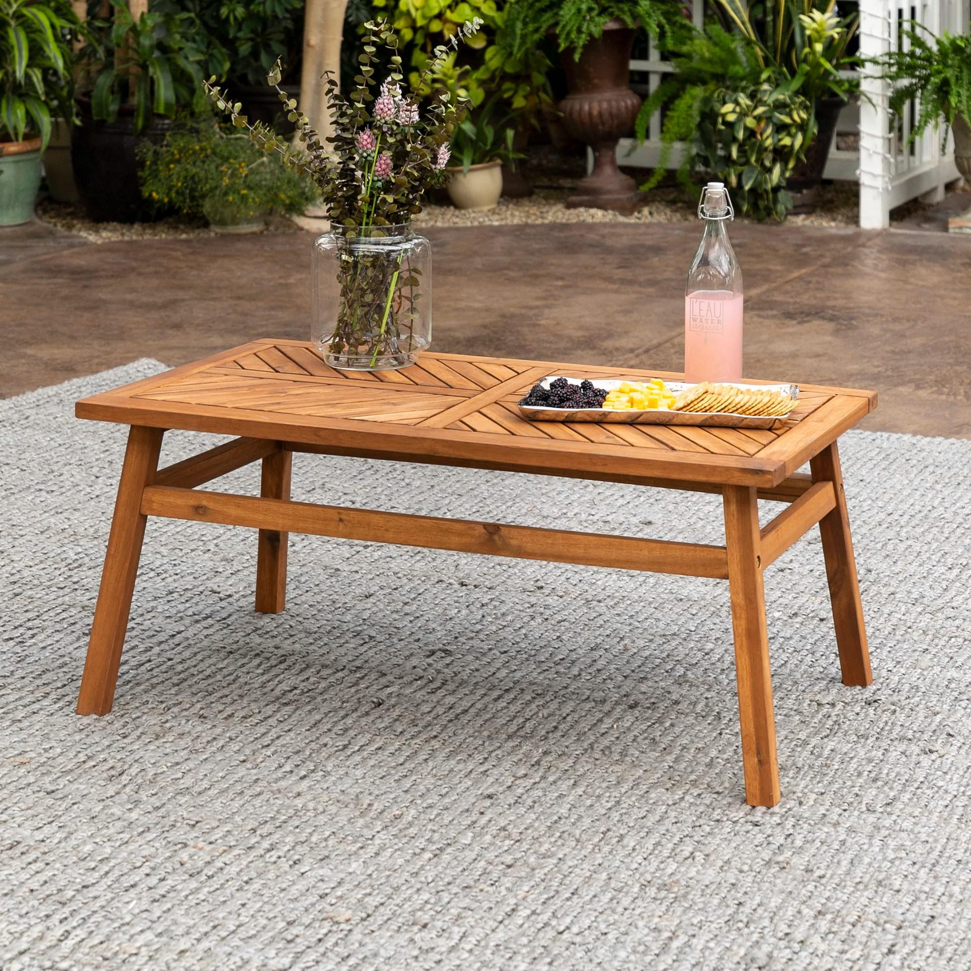outdoor coffee tables wayfair