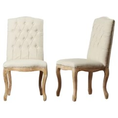 Dining Chairs Swing Patio Chair Joss Main Bernadine Upholstered Set Of 2