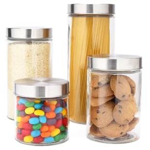 ensemble de 4 contenants de cuisine