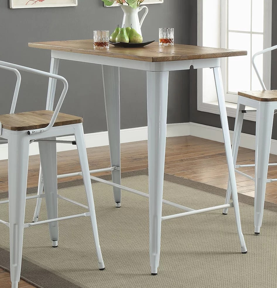 bar height kitchen table remodel ideas for small kitchens gracie oaks colten dining reviews wayfair