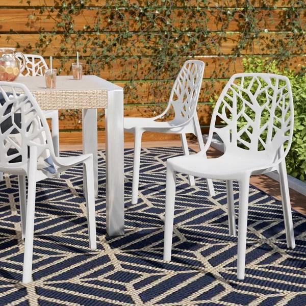 modern plastic outdoor furniture