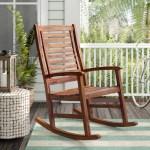 Beachcrest Home Rothstein Outdoor Rocking Chair Reviews Wayfair Ca