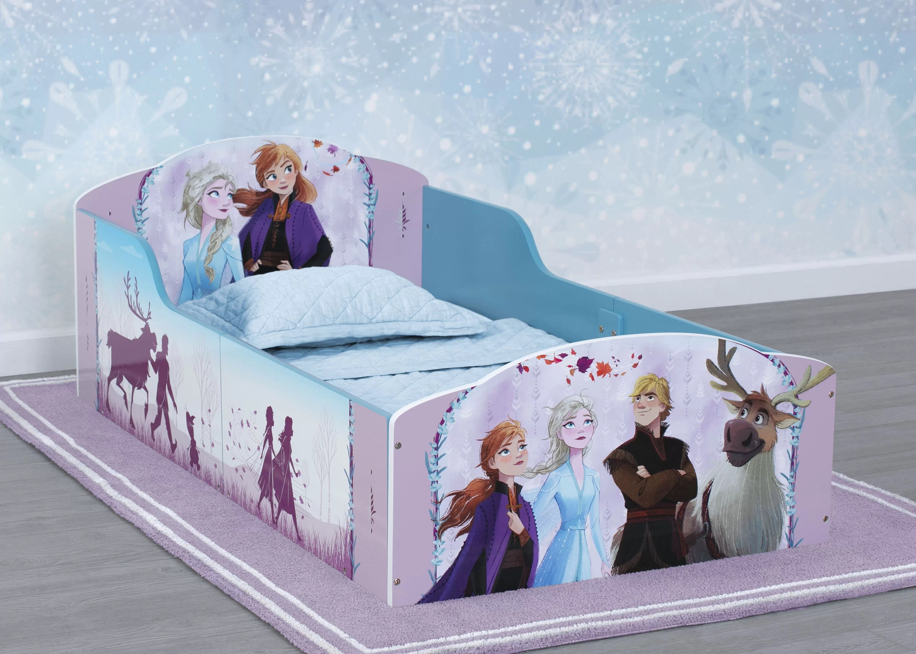 Delta Children Disney Frozen Ii Toddler Panel Bed Reviews