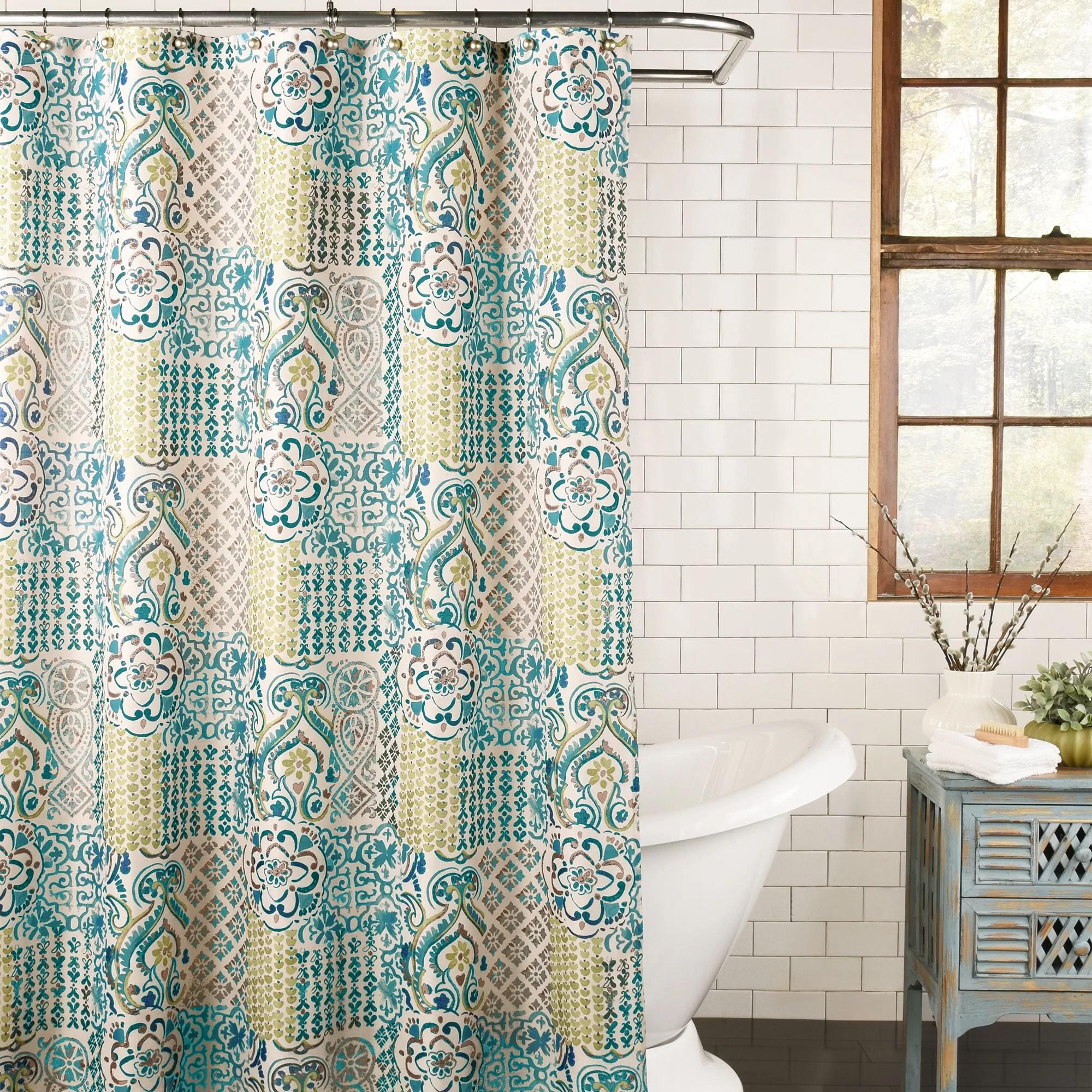 kull fabric single shower curtain
