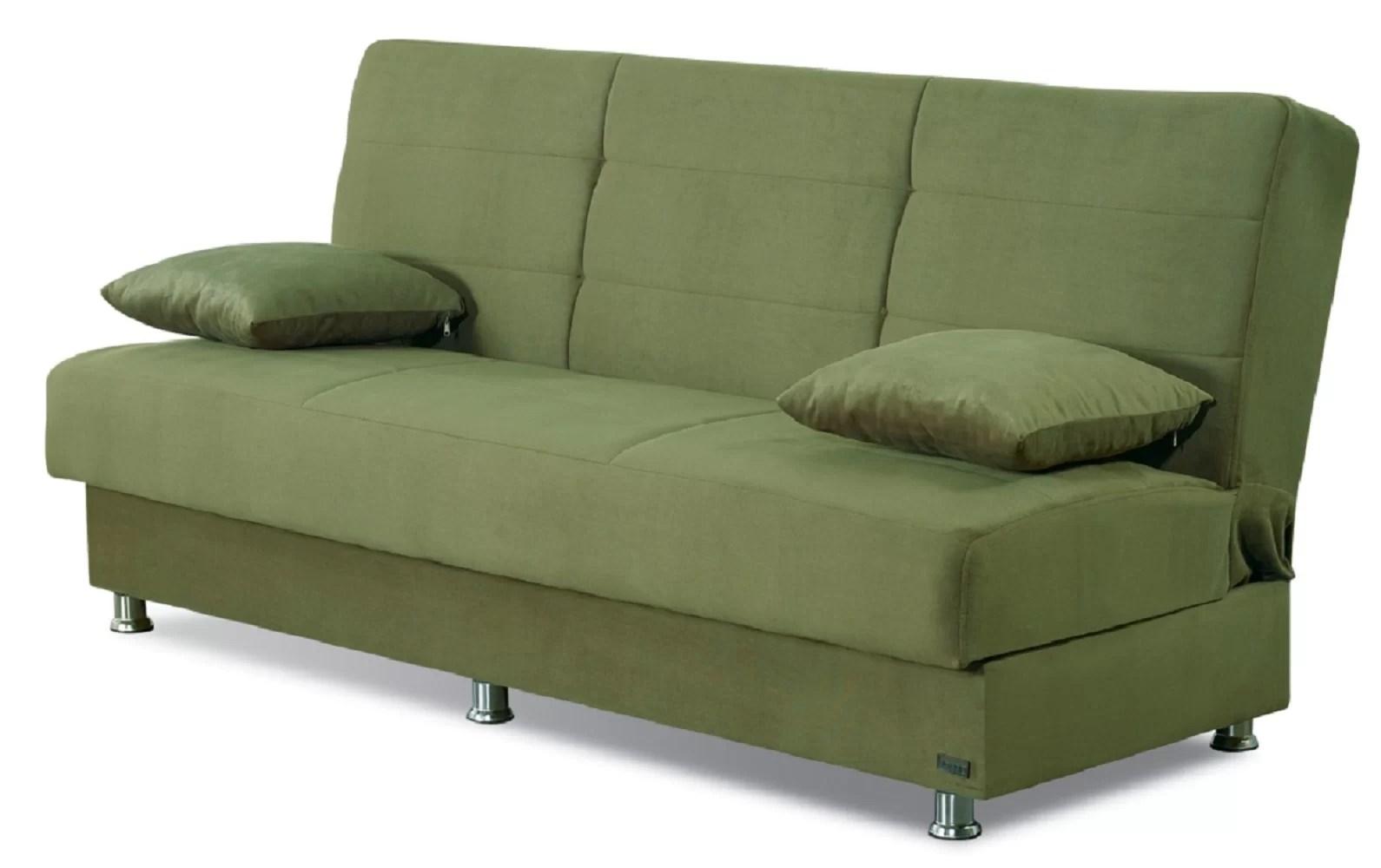 Winston Porter Brookhurst 75 Armless Sleeper Sofa Bed Reviews