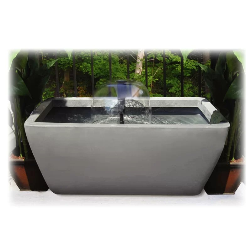 Manhattan Acrylic Pond Kit with Light Color: Charcoal Stone