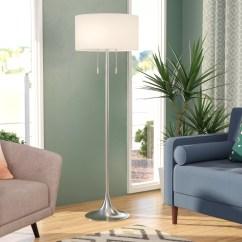 Lamps For Living Room Best Colors As Per Vastu Three Posts Morrisonville 61 Floor Lamp Reviews Wayfair