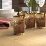 Loon Peak Rustic Small Mercury Glass Votive Holder Reviews Wayfair Ca