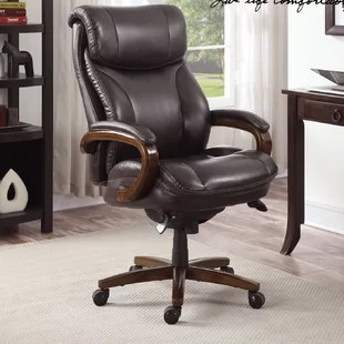 la z boy black leather executive office chair uk small accent chairs you ll love wayfair trafford by