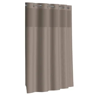brown hookless shower curtains shower