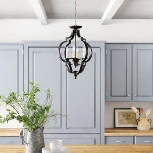 cottage country flush mount lighting