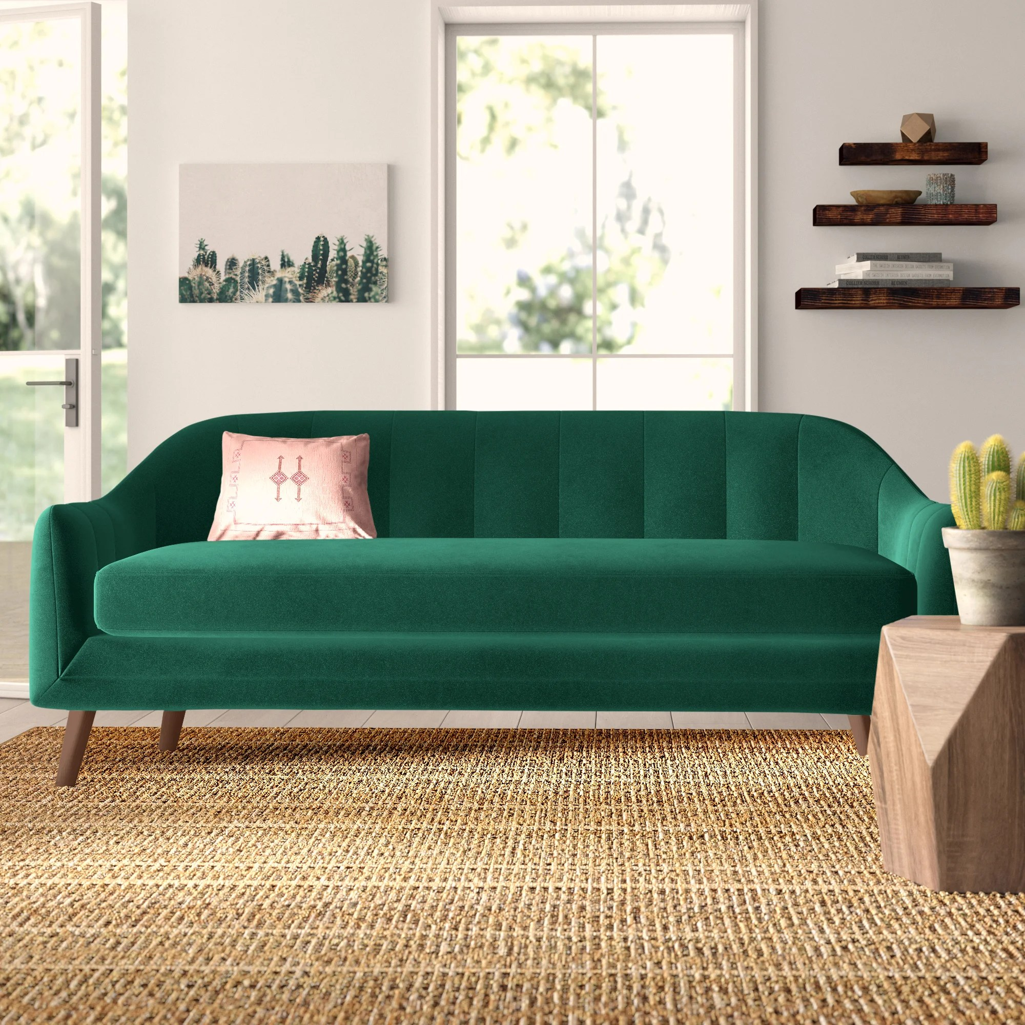 Green Sofas Couches You Ll Love In 2020 Wayfair