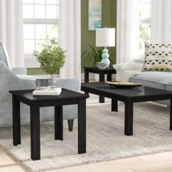 3 Piece Table Set For Living Room Seating Arrangements Coffee Sets You Ll Love Wayfair Carl