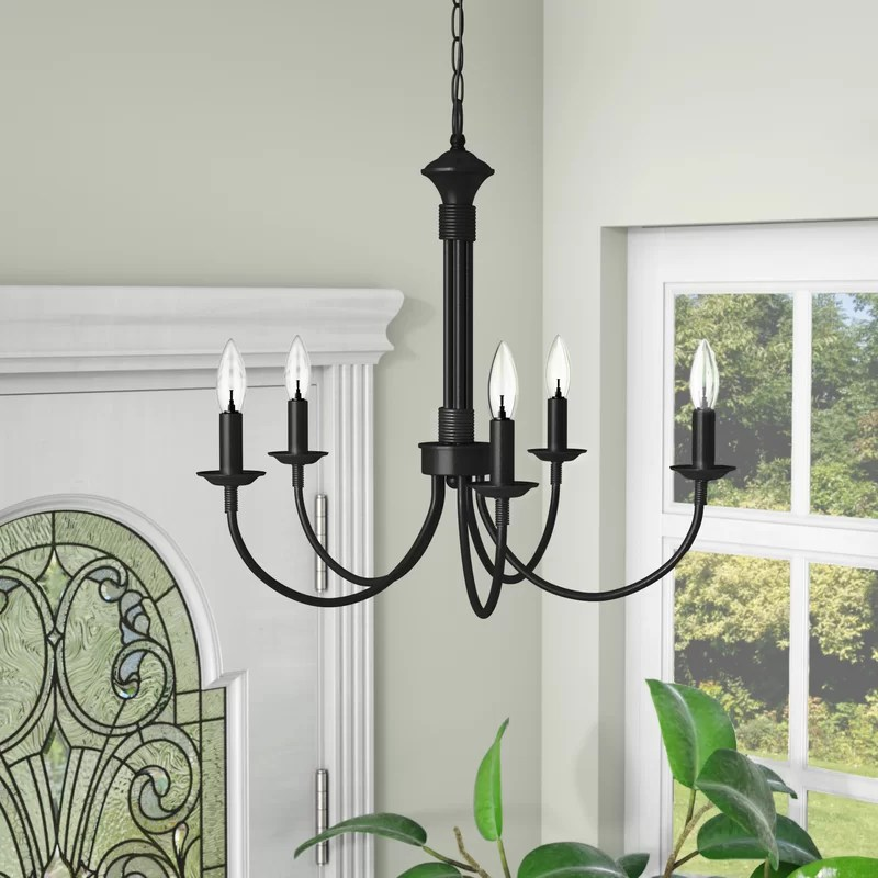 shaylee 5 light candle style empire chandelier