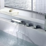 Sumerain Triple Handle Deck Mounted Roman Tub Faucet With Diverter And Handshower Reviews Wayfair