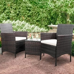 jagger 3 piece rattan seating group with cushions