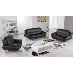 Black Leather Living Room Big Wall Clock Sets You Ll Love Wayfair Quickview