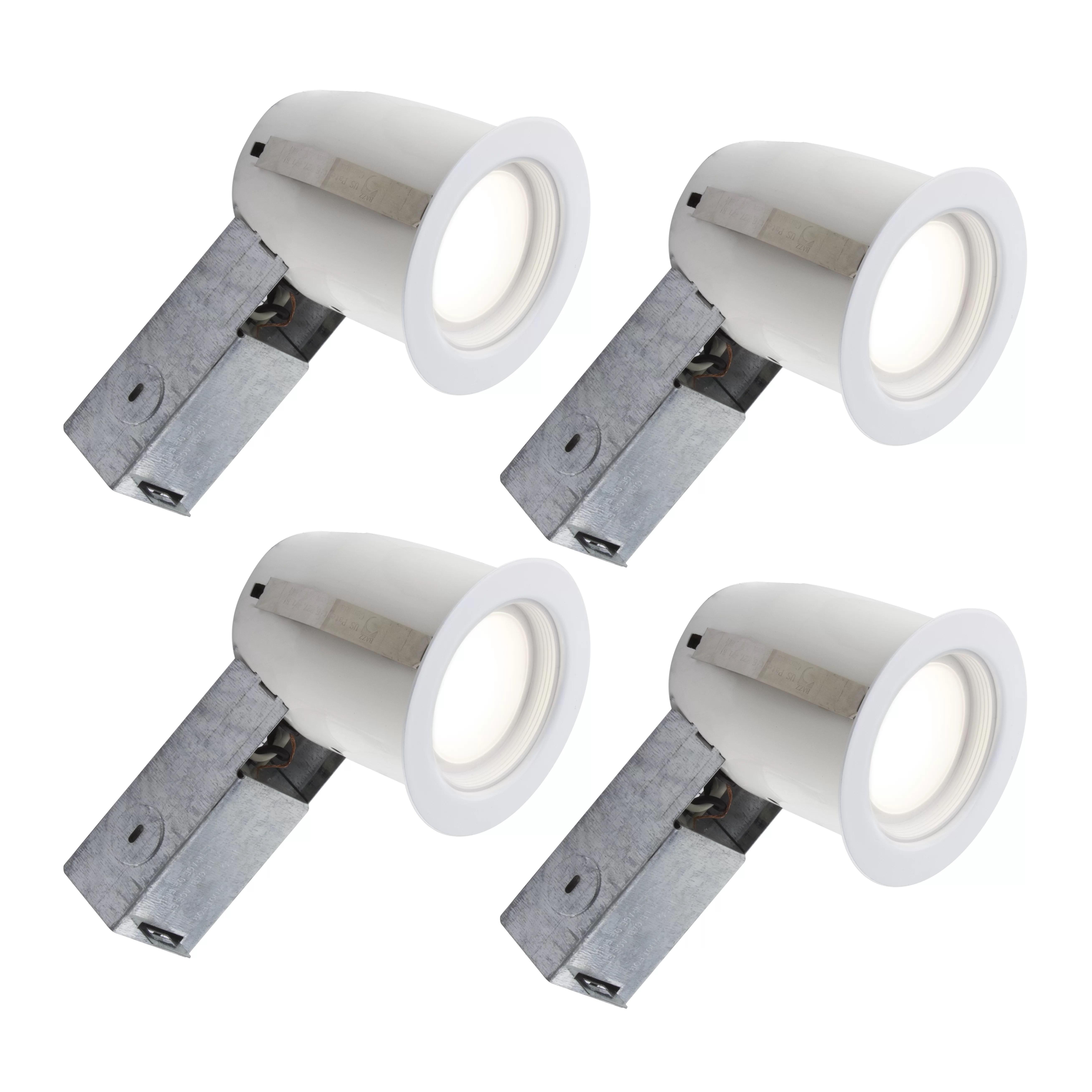 bazz 3 75 led recessed lighting kit wayfair