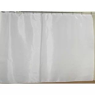 polyester single shower curtain liner