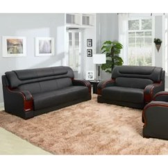 Leather Sofa Sets For Living Room Tuscan Style You Ll Love Wayfair Quickview