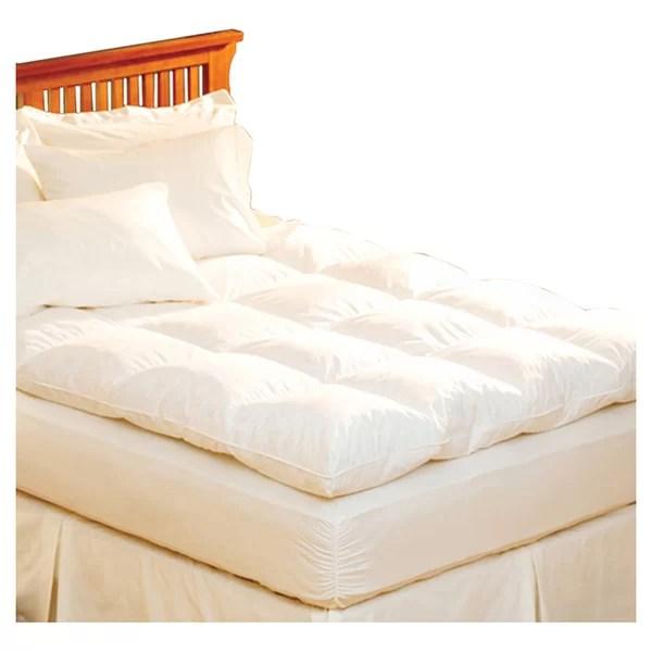 Pacific Coast Feather Luxe Loft 100 Cotton Bed Reviews Wayfair