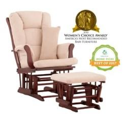 Best Chairs Geneva Glider White Lumbar Support Replacement Cushions Wayfair Quickview