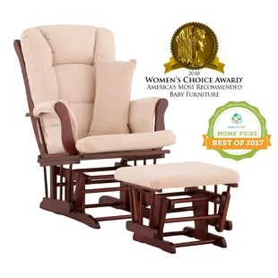 best chairs geneva glider white upholstered dining with nailheads replacement cushions wayfair quickview