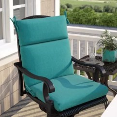 Patio Chair Pads Bar Stool Baby High Cushion Covers Wayfair Quickview