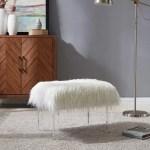 Mercer41 Kuhn Vanity Stool Reviews Wayfair